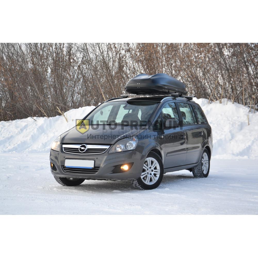 Автобокс на крышу Черный Turino Sport (480 л) Аэродинамический на крышу автомобиля