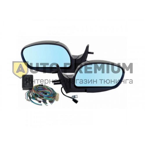 Боковые зеркала с эл.приводом и обогревом, антибликовые для ВАЗ 2113, 2114, 2115